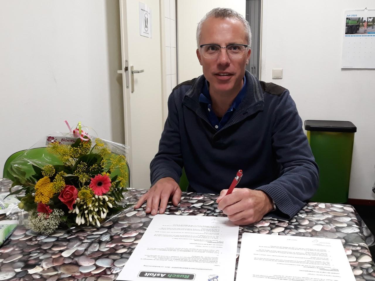 Rusch Asfalt en van Wissing Optiek verlengen sponsorcontract