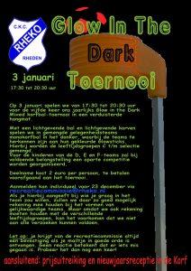 Glow in the Dark toernooi